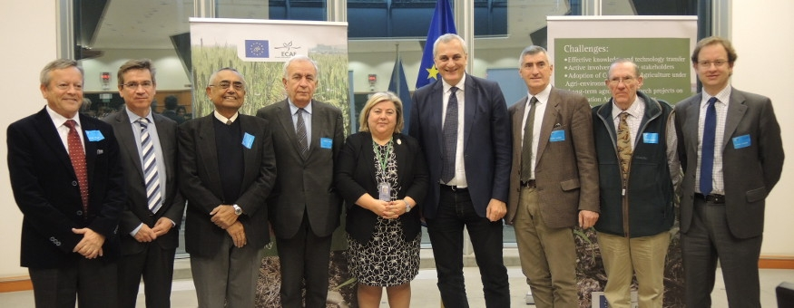 """THE EUROPEAN PARLIAMENT TACKLES THE BENEFITS OF CONSERVATION AGRICULTURE IN THE SEMINAR """"MAKING SUSTANIABLE AGRICULTURE REAL"""""""